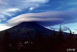 「富士山笠雲」の画像検索結果