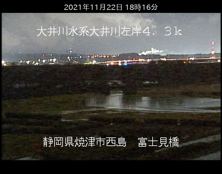 富士見橋左岸