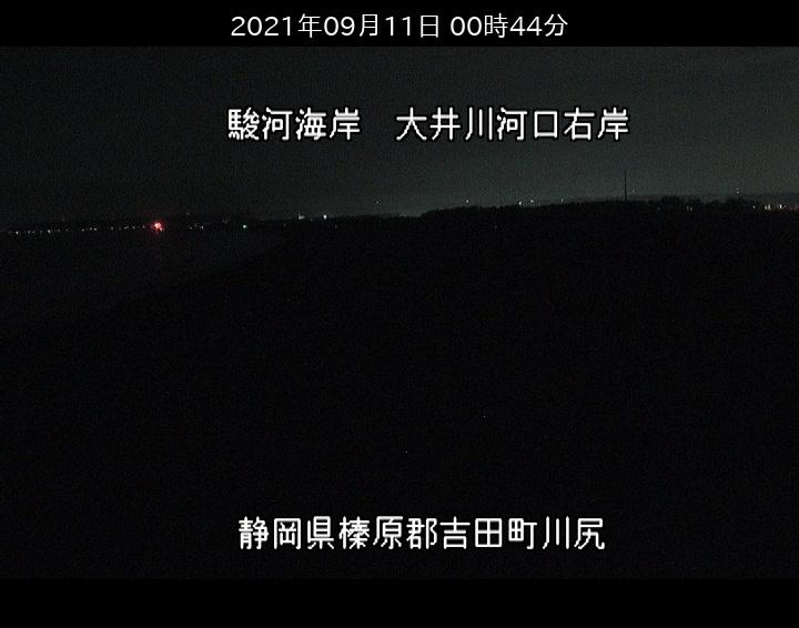 大井川河口右岸