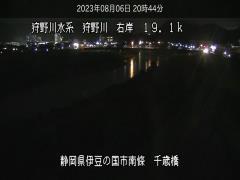 リアルタイム防災情報/ライブカメラ「狩野川上流」