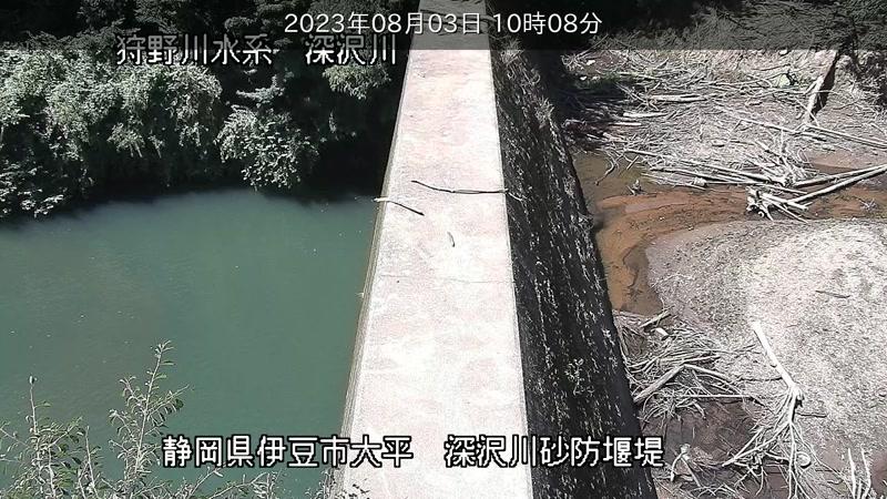 深沢砂防ダム