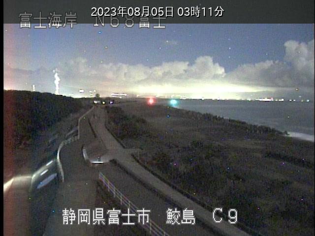 リアルタイム防災情報/ライブカメラ「富士海岸」