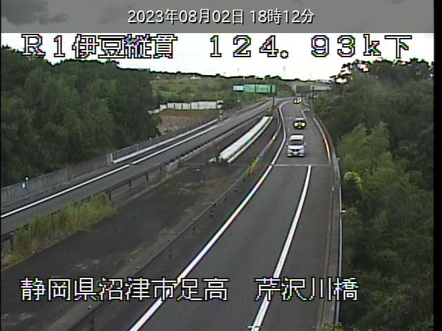 芹沢川橋 124.9KP
